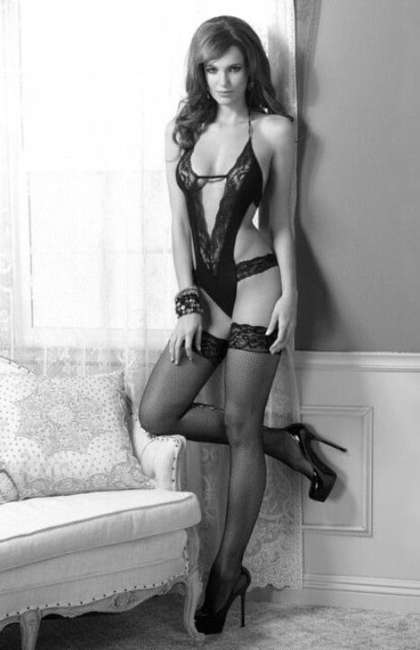 Lovely Luscious Lingerie Ladies (Black And White)
