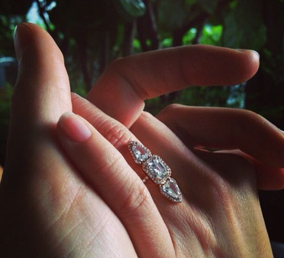 jen atkin s engagement ring from mike rosenthal made by