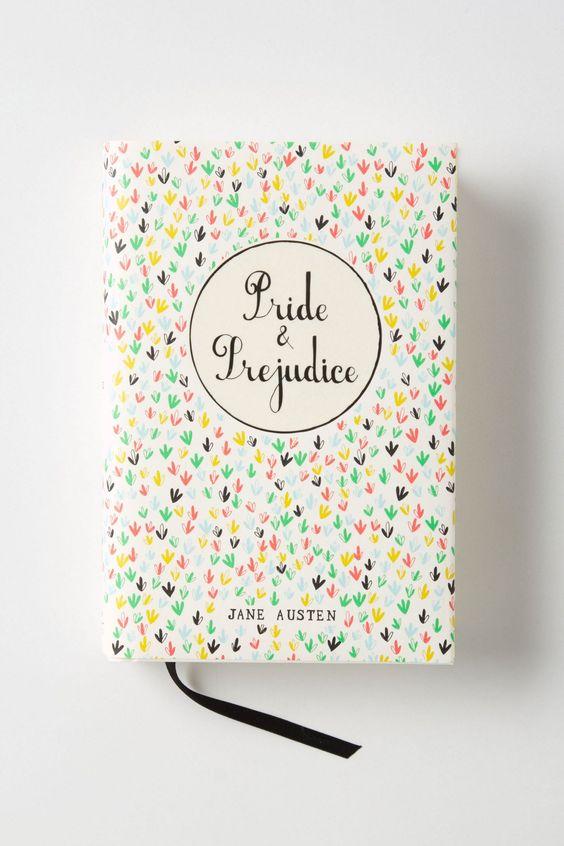 oooh, loving this inspiring cover! >>Mr. Boddington's Penguin Classics, Pride & Prejudice - Anthropologie.com