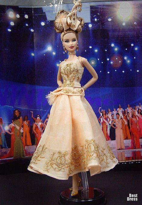 Miss Tatarstan ( Dior dress ) | Ninimomo's Barbie. Russia. 2009/2010