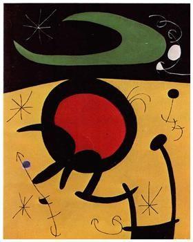 Vuelo de pájaros, Joan Miro 1968