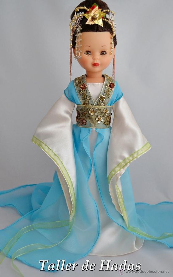 Muñecas Nancy y Lucas: Vestido para Muñeca Nancy de Famosa. Hanfu. - Foto 1 - 48359808