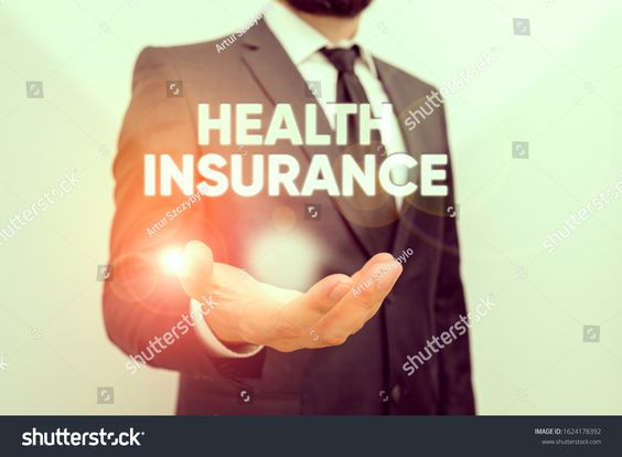 Conceptual Hand Writing Showing Health Insurance Business Photo