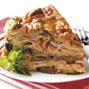 Slow-Cooker Veggie Lasagna Recipe