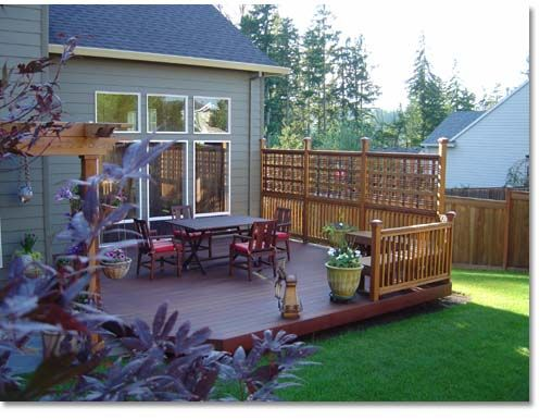 Creative outdoor living and decking on pinterest for Creative ideas for outdoor privacy screens