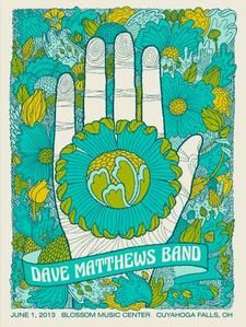 Dave Matthews Band Date: 6/1/2013 Venue: Blossom Music Center City: Cuyahoga Falls State: OH