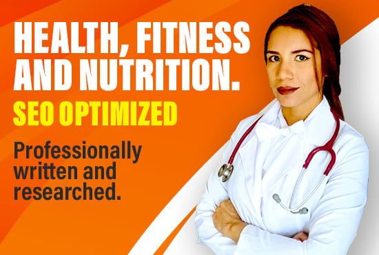 I Will Write Health Nutrition And Fitness Seo Article In 2020 Health And Nutrition Health Fitness Nutrition