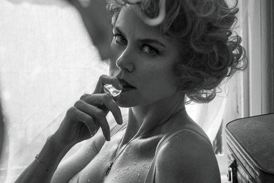 """Nicole Kidman posó en lencería para la revista """"Interview"""""""