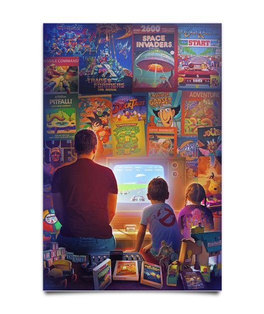 Atari 2600 7800 Product Design Retro Gaming Art Retro Games Wallpaper Classic Video Games