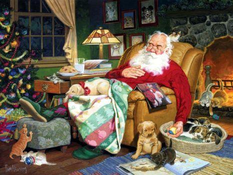 Santa's Nap Time (165 pieces)