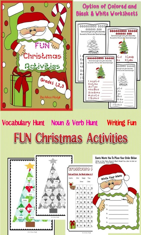 Classroom Writing Ideas ~ Christmas activities peeps and student