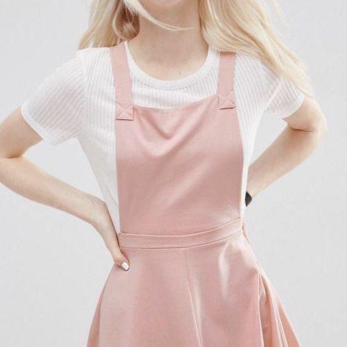 pink dress aesthetic