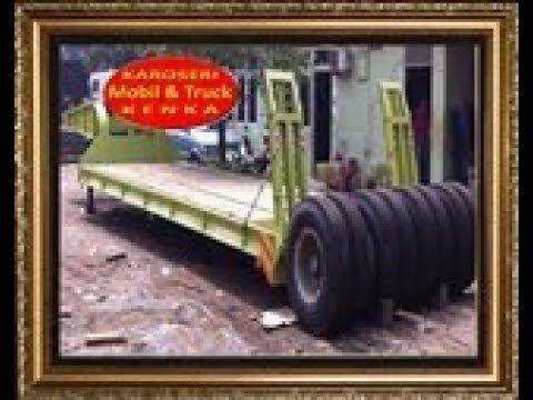Banjarmasin Harga Karoseri Trailer Rangka Flat Deck Low Bed Lo