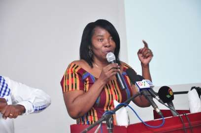 Eva Lokko, 2012 Vice Presidential Candidate of PPP