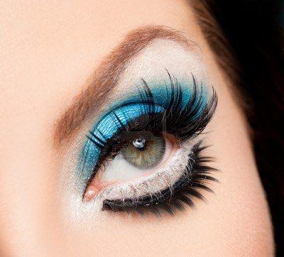 Fantasy makeup lashes