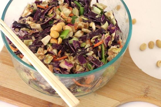 Asian Cole Slaw- Nibbles By Nic