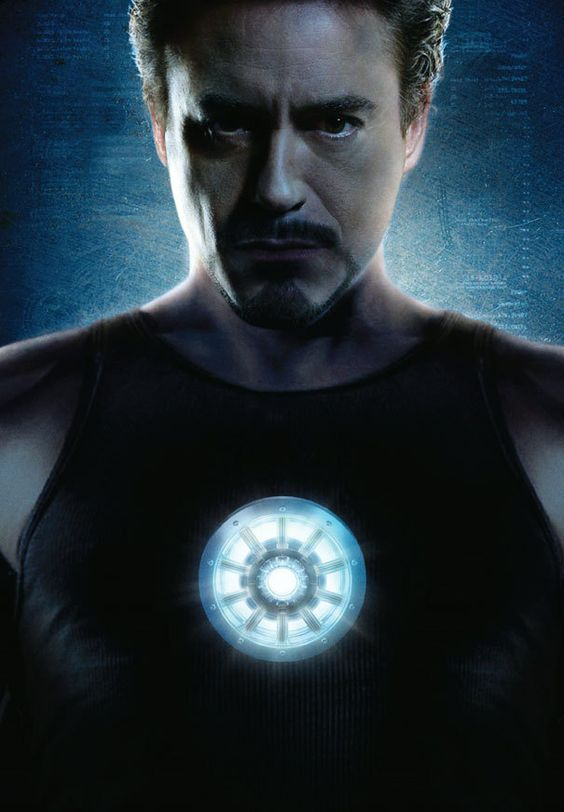 Robert Downey Jr. as Tony Stark is Iron Man! An iconic image, in my opinion, of the origins of the Marvel Cinematic Universe.