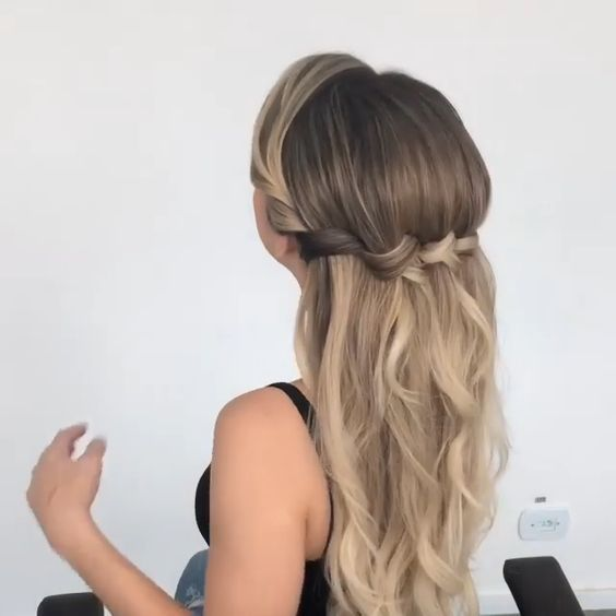Get Inspired With 80 Amazing Bridal Hairstyle Ideas For Your Wedding Day In 2020 Braids For Long Hair Easy Hairstyles For Long Hair Cute Hairstyles For Medium Hair