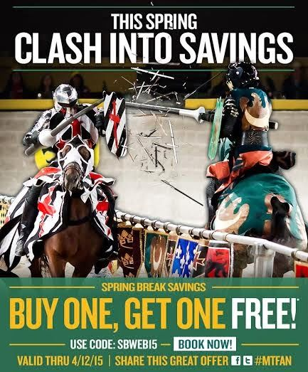 Medieval Times Baltimore Sale + #giveaway