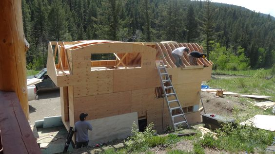 finishing roof rafters