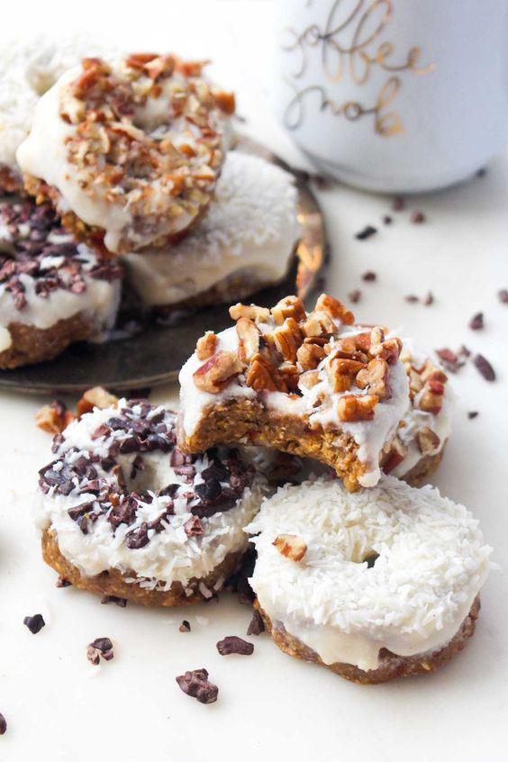 Pumpkin Spice Latte Donnuts: