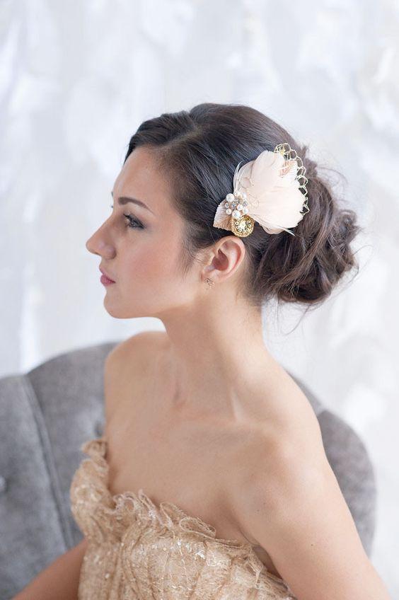 Small Fascinators For Short Hair Wedding Ideas ba872446bca