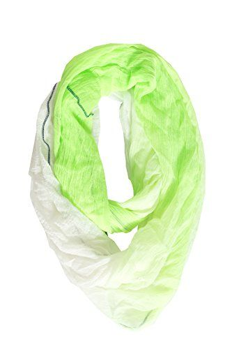 Steve Madden Women's Neon Green Soft Gauze Overlook Infinity Scarf Steve Madden http://www.amazon.com/dp/B00X6535J4/ref=cm_sw_r_pi_dp_XsvQvb1KQ47Z3