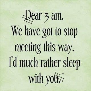 Sleep ! :)