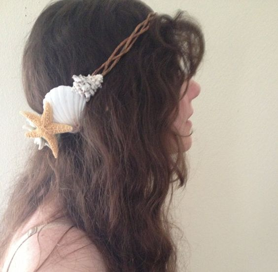 Mermaid Crown/ Sea Crown / Beach Wedding Crown/ by thelocalmermaid, $27.00