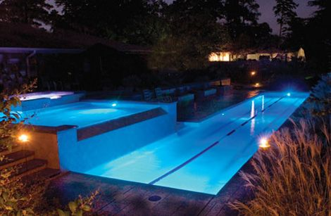 Swimming presidents and pool shapes on pinterest for Pool design certification