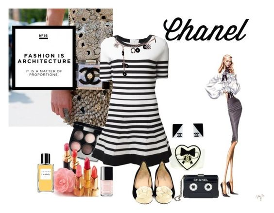 """Chanel Accessories"" by misssally ❤ liked on Polyvore featuring Chanel and Timo Weiland"