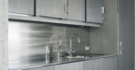 A Liquid Metal Kitchen from Metalier