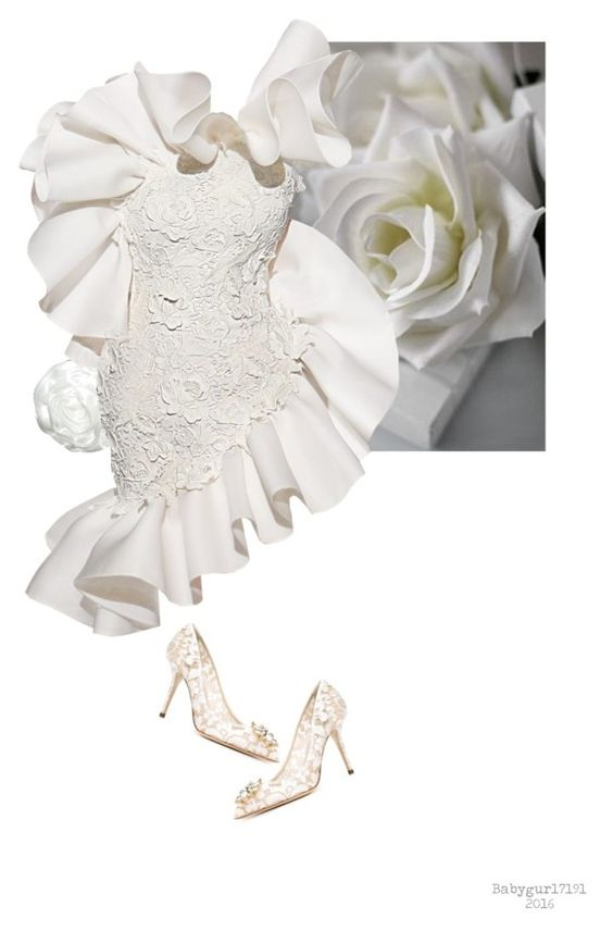 """Flower Series 1/5- Roses #10"" by babygurl7191 ❤ liked on Polyvore featuring Dolce&Gabbana"