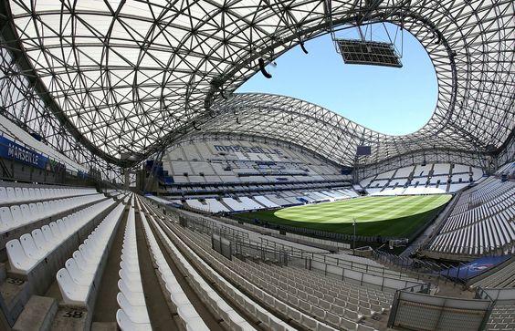 The Stade Velodrome in Marseille 😍