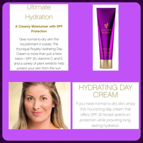 Give your skin the Royal Treatment with Younique's new Hydrating Day Cream…