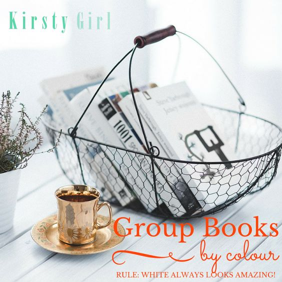 Group Books By Colour