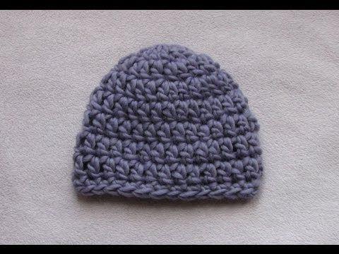 Beginner Crochet Baby Hat Tutorial : Pinterest The world s catalog of ideas