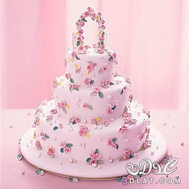 تورتة ميلاد بالاسماء 2018 اجمل تورتة 3dlat Net 14 17 Fe6f Wedding Cakes With Cupcakes Spring Wedding Cake Pastel Cakes