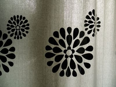 Stencil ideas for glass etching