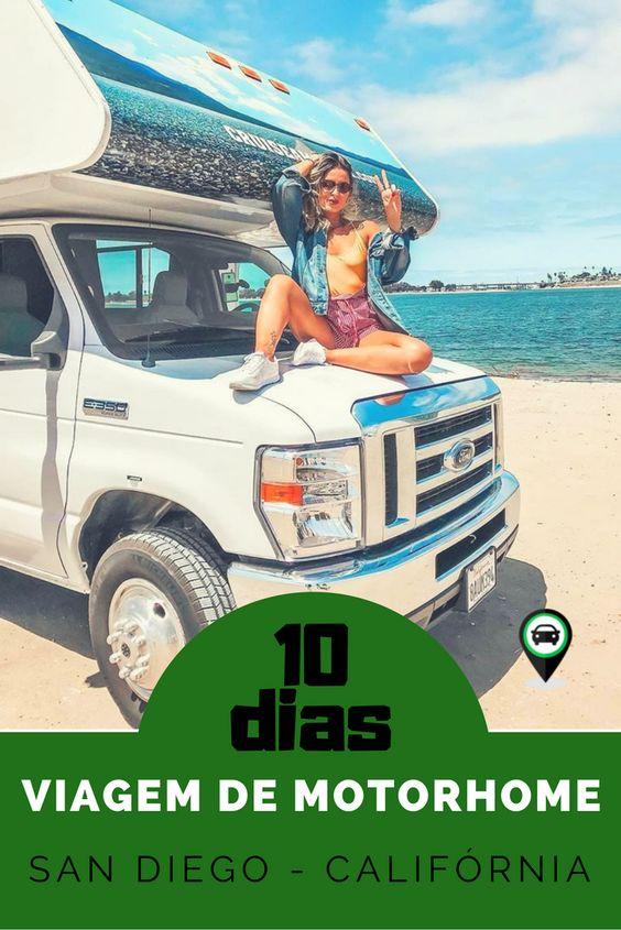 Viagem de motorhome: 10 dias pela Costa do Pacífico em San Diego - Califórnia