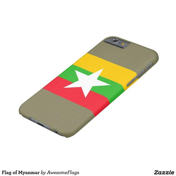 Flag of Myanmar Barely There iPhone 6 Case