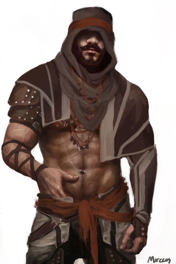 marccus-art-blog:  A character from a story I'm working on
