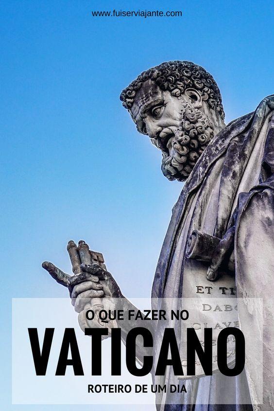 O que fazer no Vaticano - roteiro de um dia