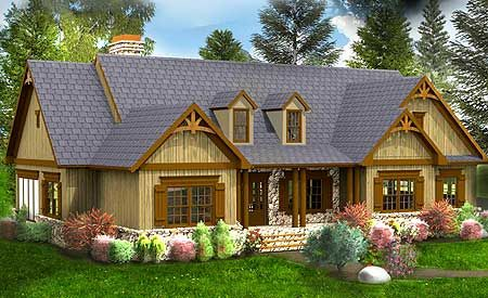 Rustic House Plans Rustic Houses And Walkout Basement On