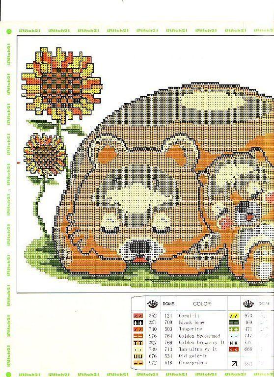 Basta atravessar Stitch Patterns | Aprender artesanato é facilisimo.com