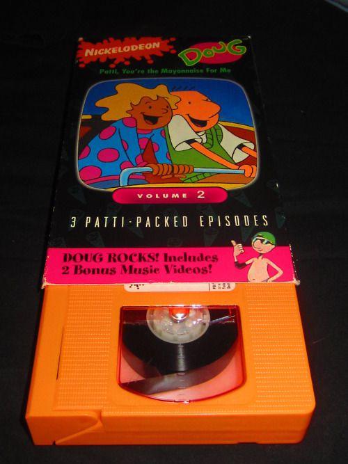nickelodeon orange tapes