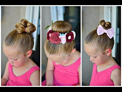 3 Quick and Easy Toddler Hairstyles for Beginners , YouTube