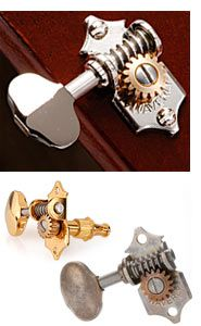 waverly guitar tuners with butterbean knobs for solid pegheads music pinterest knobs. Black Bedroom Furniture Sets. Home Design Ideas
