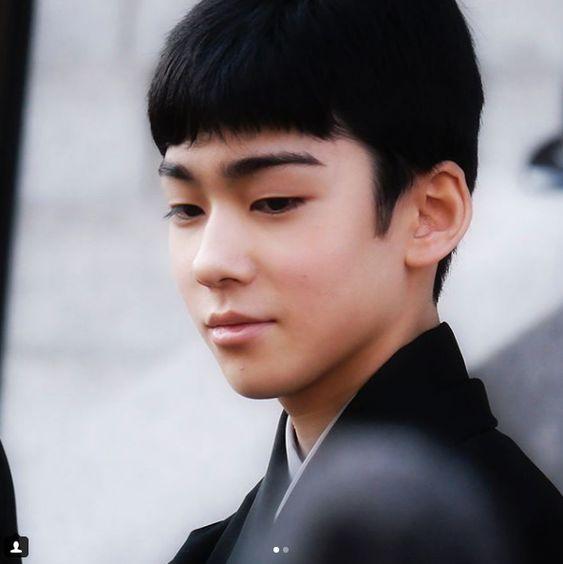 整った眉が男前な八代目市川染五郎のかっこいい画像