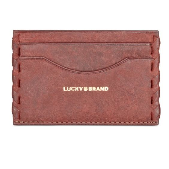 Card case Brand new, lucky brand card case. Described in above picture. Lucky Brand Other